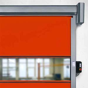 Гибкие вертикальные скоростные ворота Hormann V 2012 внутреннего применения