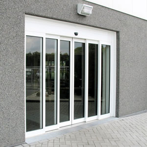 Автоматические двери с оператором DIVA L от PORTALP телескопические