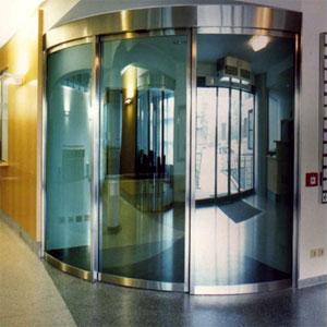Автоматические двери с оператором DIVA радиусные от PORTALP