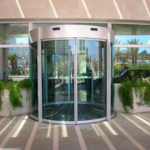 Автоматические двери с оператором DIVA круглые от PORTALP
