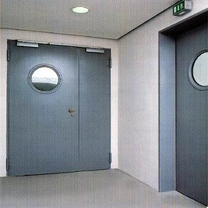 Противопожарные двери Hormann (Херман)  серии H3 двухстворчатые T30-2