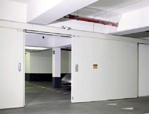 Противопожарные ворота Hermann двустворчатые HG 15 класс T90
