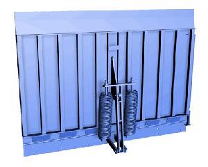 Складское оборудование: Доклевеллеры - откидные мосты DockHan