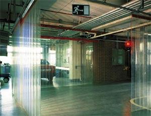 Пластиковые завесы ПВХ Hermann SVF для промышленных объектов