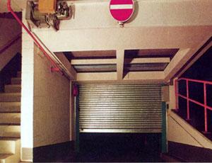 Рулонные противопожарные ворота Teckentrup (Германия)