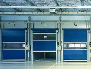 Гибкие вертикальные скоростные ворота Hermann V 5015 SE внутреннего применения
